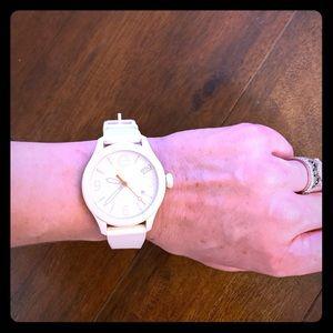 ESQ Movado White Watch